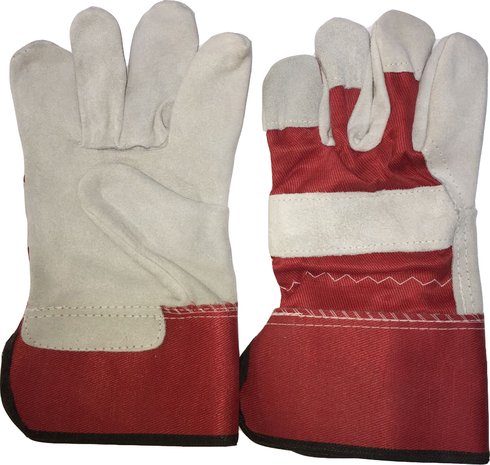Red No.1 Double Palm Working Glove Heavy Duty 11