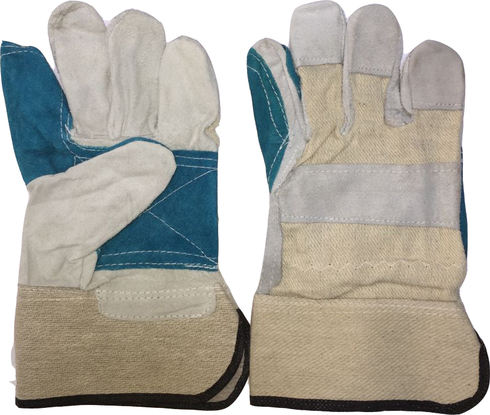 Ring Finger Double Palm Working Glove Heavy Duty 11